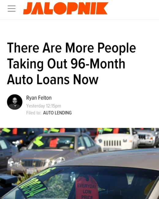 Black Gook Used Car Loan Value